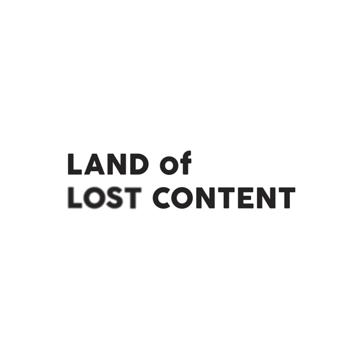 Land of Lost Logo