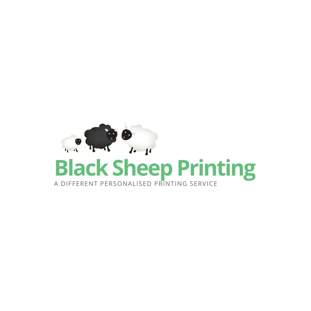 Black Sheep Printing Logo