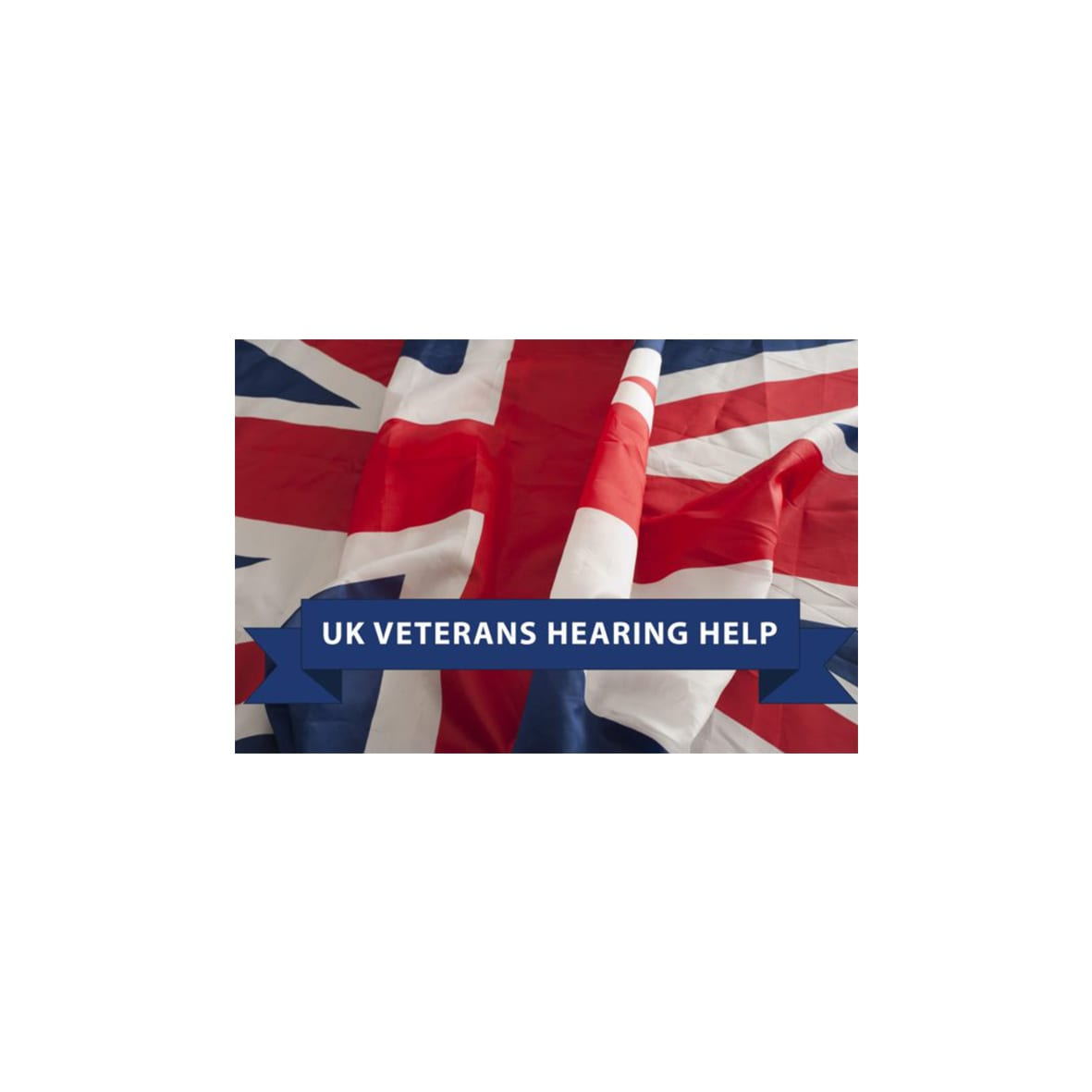 UK Veterans Hearing Help Logo